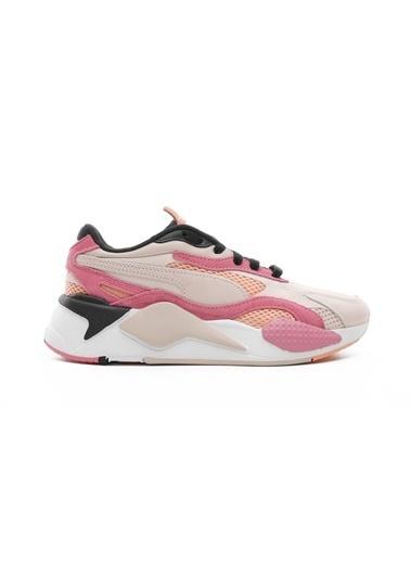 Puma Kadın Bej RS-X³ Mesh Pop Sneakers 372117.01 Bej